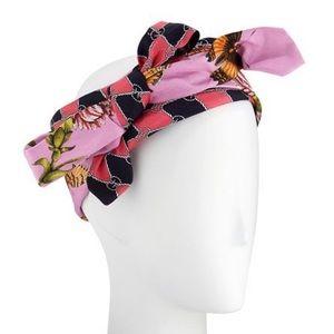 Gucci Accessories - GUCCI Botanical Rose Headband/Wrap - NWT